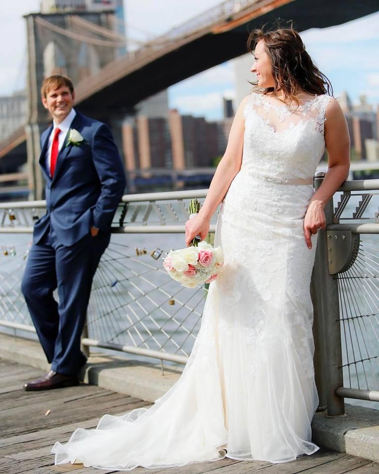 Real Brides Wearing Stella York: REAL BRIDES